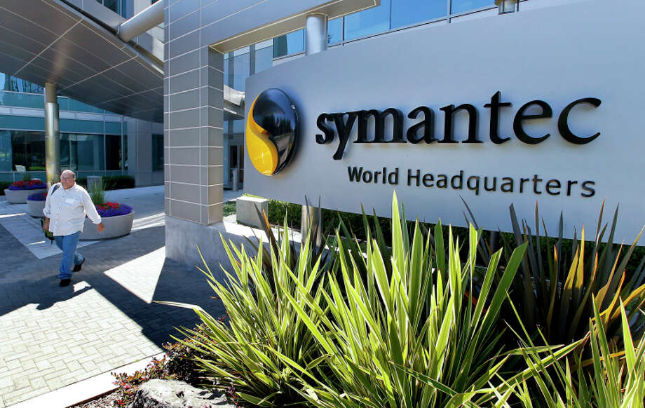 Symantec in Mountain View is in talks to separate into data storage and software security entities. Photo: Tony Avelar / Bloomberg News