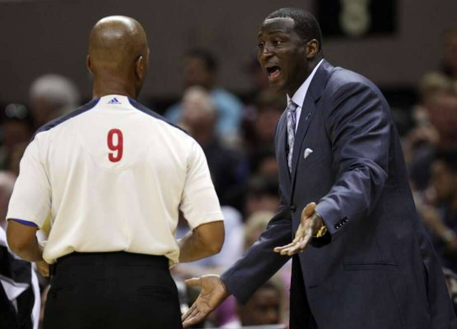 Coach Tyrone Corbin and the Jazz face a grim reality trailing the Spurs 2-0.