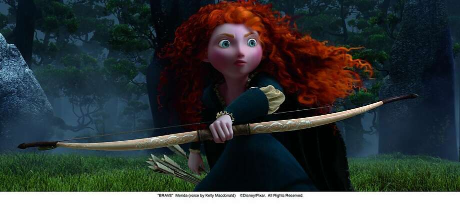 "Merida in BRAVE ""BRAVE""  Merida (voice by Kelly Macdonald)  ©Disney/Pixar.  All Rights Reserved. Photo: Pixar"