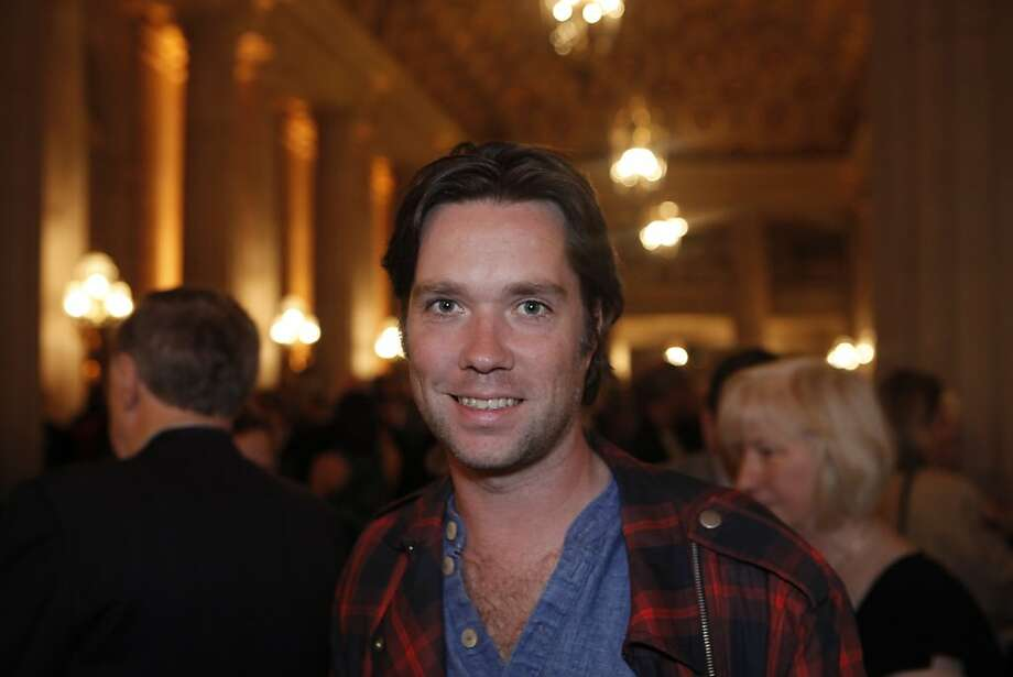 Rufus Wainwright, pop singer and composer, of New York City, at the San Francisco Opera on Nov. 10, 2010. Photo: Cory Weaver
