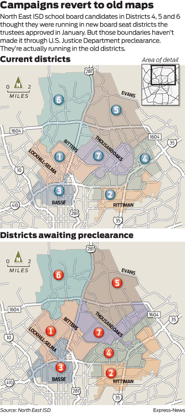 North East Isd Candidates Got Incorrect Campaign Maps
