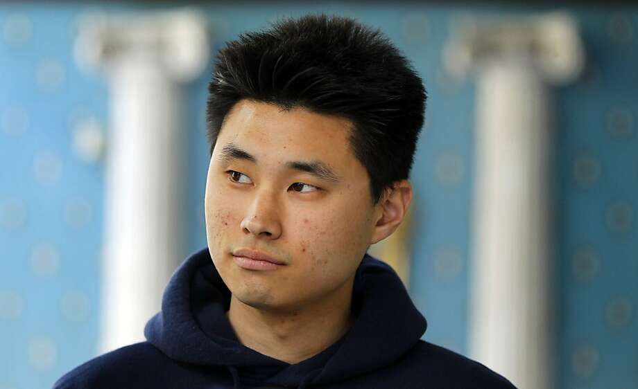 Daniel Chong appears at a news conference where he discussed his detention by the DEA during a news conference on May 1, 2012 in San Diego. Chong, a U.S. college student, was forgotten by federal drug agents and left in a holding cell for five days without food, water or access to a toilet says he drank his own urine to survive. The 24-year-old engineering student at University of California, San Diego, was swept up as one of nine suspects in an April 21 drug raid that netted 18,000 ecstasy pills, other drugs and weapons. Chong said federal Drug Enforcement Administration agents told him he would be released.  (AP Photo/U-T San Diego, K.C. Alfred)  SAN DIEGO COUNTY OUT; NO SALES; COMMERCIAL INTERNET OUT; FOREIGN OUT Photo: K.C. Alfred, Associated Press