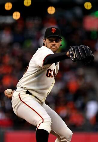 San Francisco Giants starting pitcher Barry Zito throws to the Miami Marlins during the second inning of their MLB baseball game Wednesday, May 2, 2012 in San Francisco Calif. Photo: Lance Iversen, The Chronicle