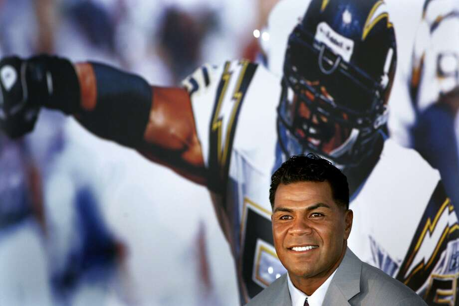 Hall of Fame inductee Junior Seau played 13 of his 20 NFL seasons with his hometown Chargers. He died in May 2012. Photo: Sandy Huffaker, Associated Press