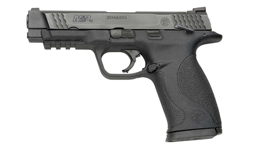 M&P45 Smith & Wesson .45 caliber pistol. Photo: Contributed Photo