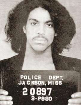 "Great Purple One Prince was arrested in Mississippi for ""pulling a prank"" on an airplane. So that's what they called it back then."