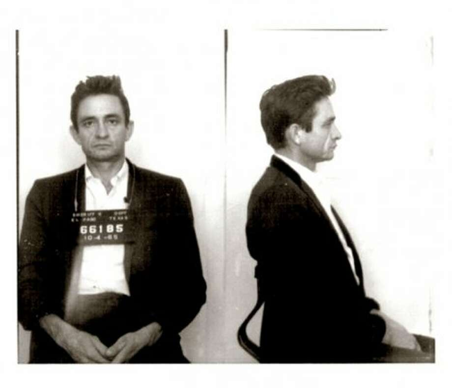 Johnny Cash (1965): His arrest by U.S. Customs agents for possession of hundreds of pep pills and tranquilizers led to hundreds of awesome songs.