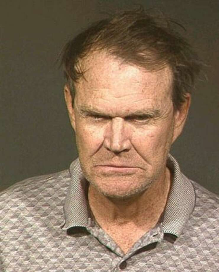 "Glen Campbell (2003): The country icon on the mug shot taken after his DUI arrest:  ""Boy, did that scare the hell out of me. I quit drinking, I can tell you that."""