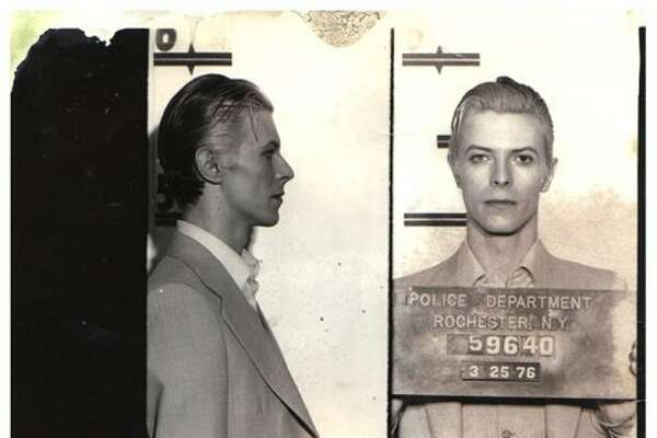David Bowie took the coolest mugshot of all-time after a