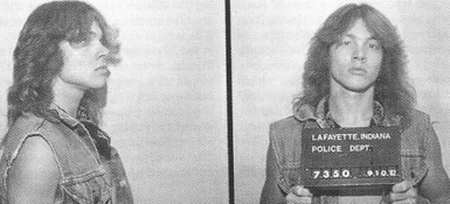 Axl Rose (1982): Arrested more than 20 times in Lafayette, he moved Los Angeles to avoid being charged as a habitual criminal.