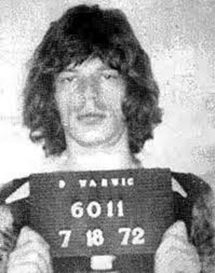 Mick Jagger (1972): Especially this one. Booked for charges of assault and obstruction of justice in Warwick, Rhode Island.