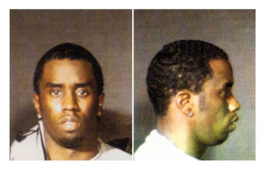 """In 1999, rapper Sean """"Puffy"""" Combs was charged with possession of a firearm in a New York nightclub."""