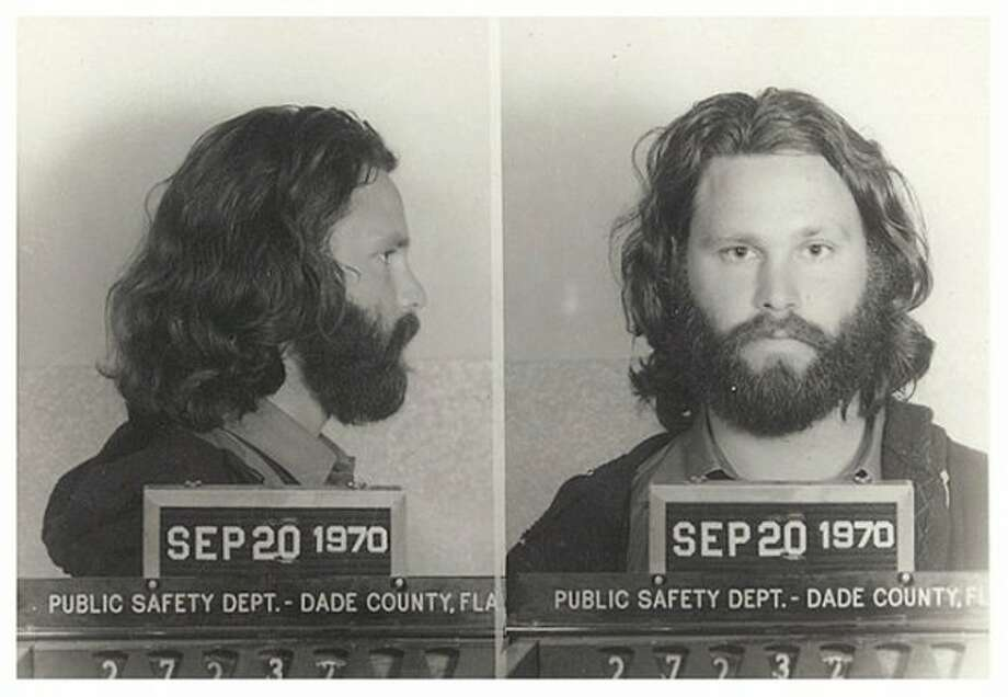 Jim Morrison of the Doors (1970): And, bringing it full circle, an indecent exposure and profanity arrest in Florida.