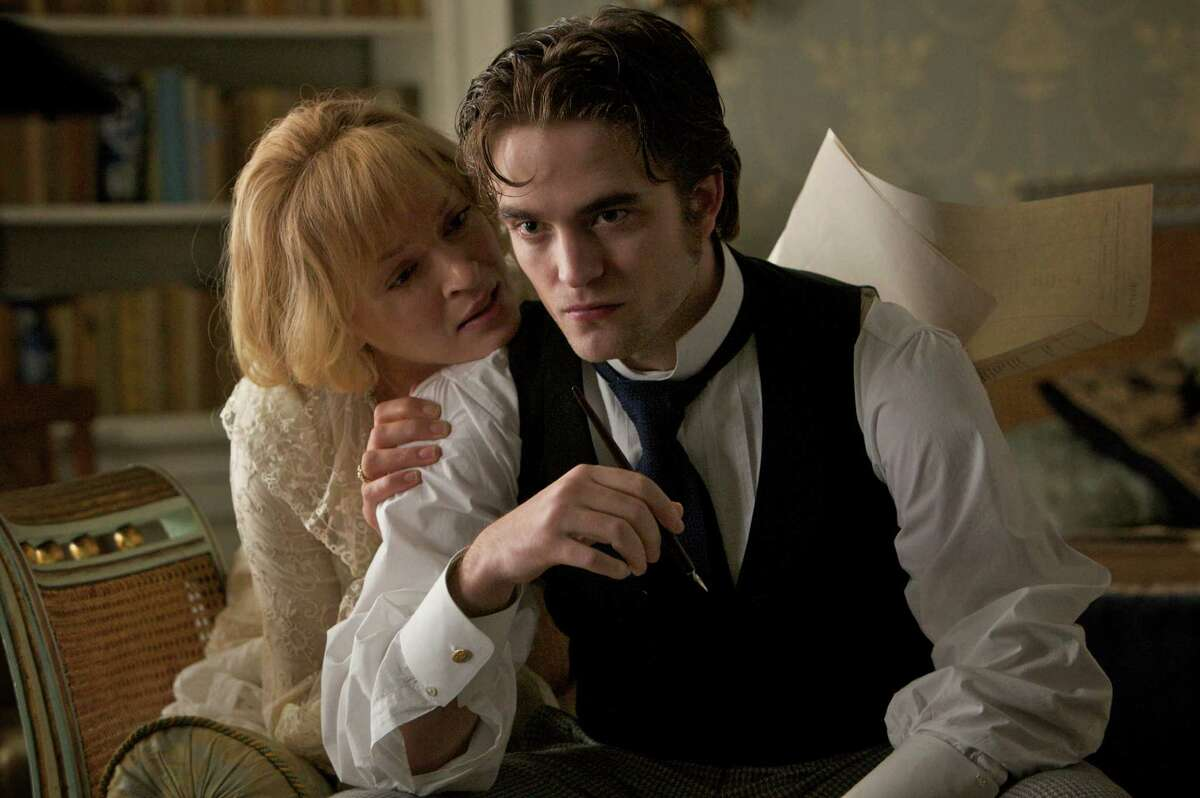 Uma Thurman and Robert Pattinson in BEL AMI, a Magnolia Pictures release. Photo courtesy of Magnolia Pictures