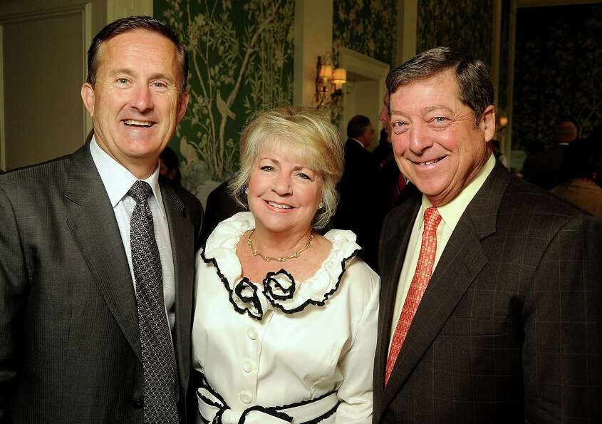From left: Tony Gracely with Jayne and Jack Kendall at the Men of Distinction luncheon at the River