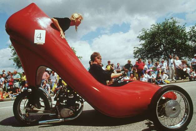Red Stiletto by David Crow in 2000. / handout