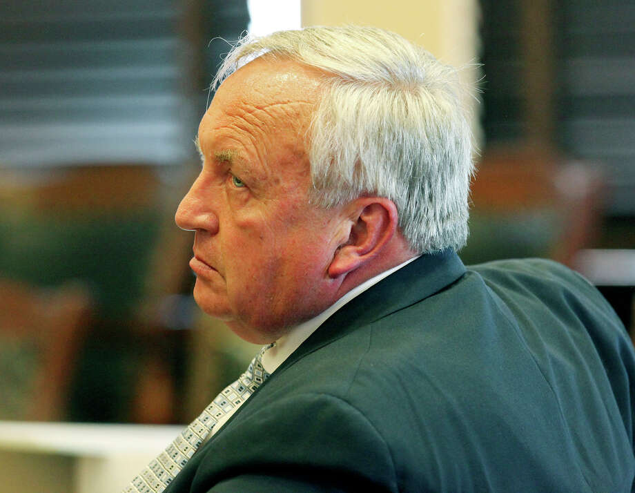 Jim Roschek, CEO of Municipal Golf Association-SA, attends the hearing last week. On Thursday, Judge John D. Gabriel granted a temporary injunction against A Place to Shoot. Photo: EDWARD A. ORNELAS, SAN ANTONIO EXPRESS-NEWS / © SAN ANTONIO EXPRESS-NEWS (NFS)