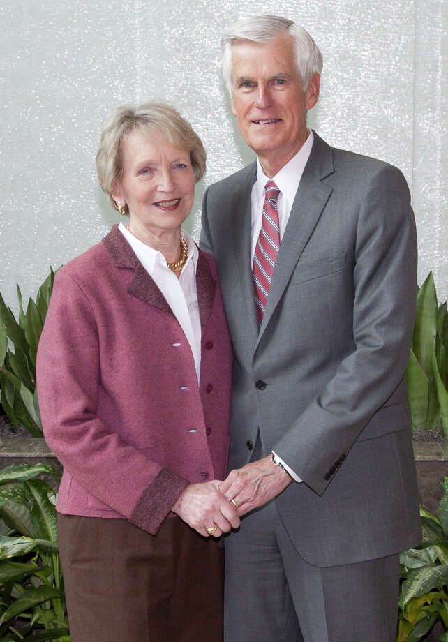 Bruce McDonald, M.D., and Beth, his wife, will be honored by the Bridgeport Hospital Auxiliary at its spring gala in May. Photo: Contributed Photo