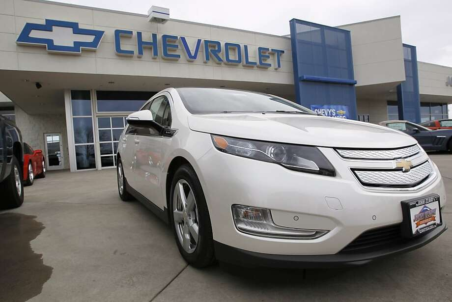 The Chevrolet Volt plug-in hybrid easily tops the list for wagons and hatchbacks under the new ranking system. Photo: David Zalubowski, Associated Press