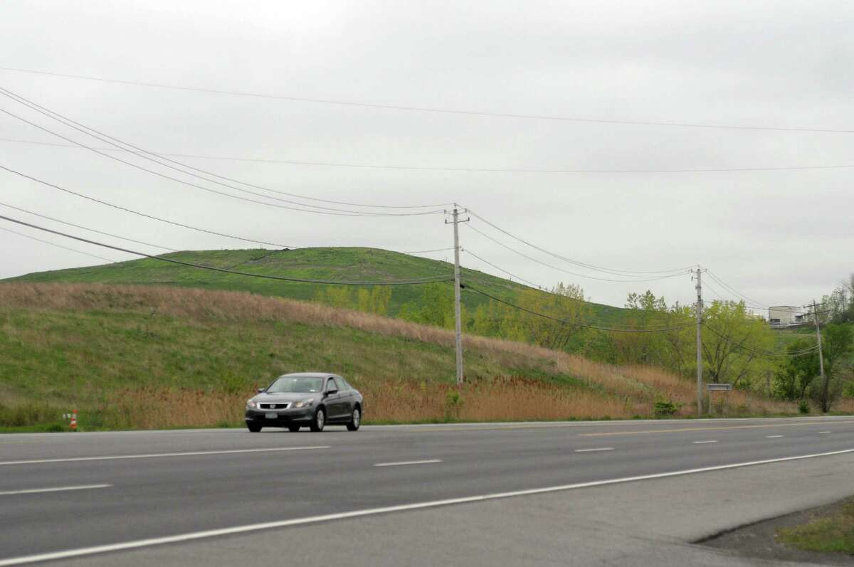 A view of the Colonie Town Landfill on Thursday, May 3, 2012 in Cohoes, NY. (Paul Buckowski / Times Union)
