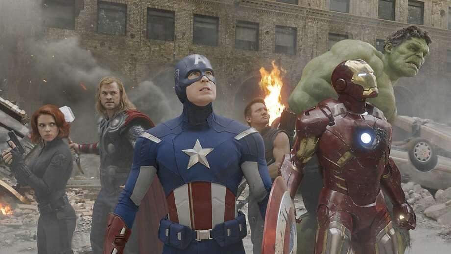 """Chris Evans stars in """"The Avengers."""" Photo: Film Frame, Marvel"""