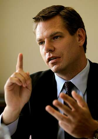 Swalwell cites Ellen Tauscher and Rep. Jerry McNerney as role models. Photo: Michael Macor, The Chronicle