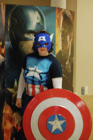 "U.S priemier of ""The Avengers"" at Santikos Palladium Photo: Erica Mendez"