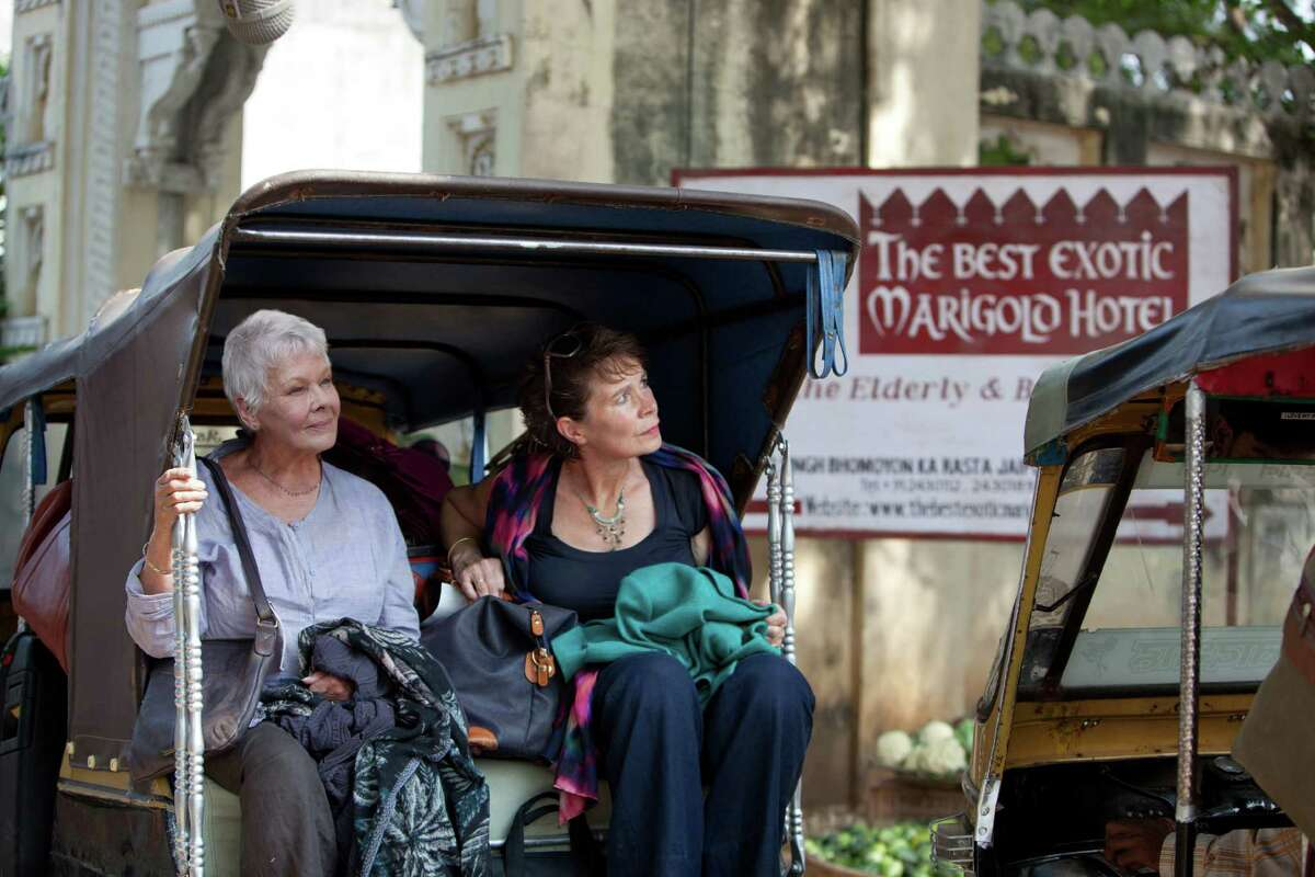 """In """"The Best Exotic Marigold Hotel,"""" Judi Dench, left, and Celia Imrie play British retirees who are duped into staying at a crumbling hotel in India. Fox Searchlight helped finance the movie with the hopes of luring moviegoers age 50 and older into theaters."""