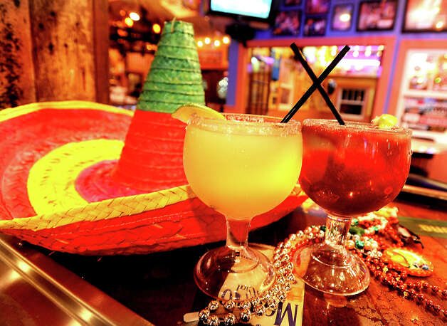 Margaritas are a popular drink for Cinco De Mayo celebrations at Cafe Del Rio in Beaumont, Wednesday,  April 25, 2012. Tammy McKinley/The Enterprise Photo: TAMMY MCKINLEY