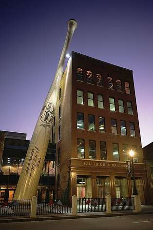 The Louisville Slugger Museum in Louisville, Ky. Photo: Louieville Slugger Museum