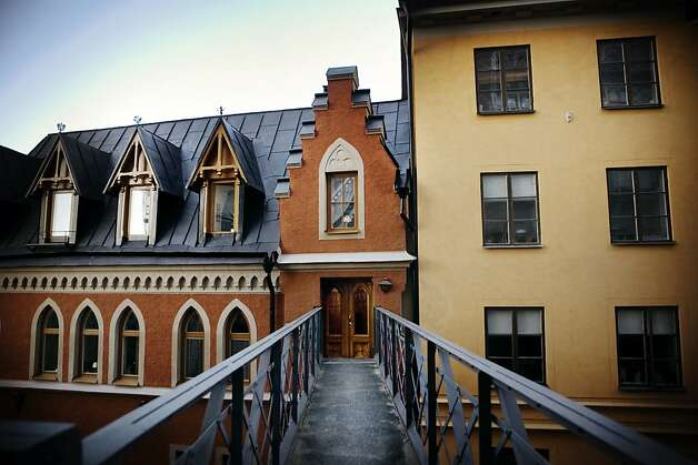 Bellmansgatan 1, the real-life building that character Mikael Blomkvist lives-in in reel-life. Photo: Thomas Karlsson