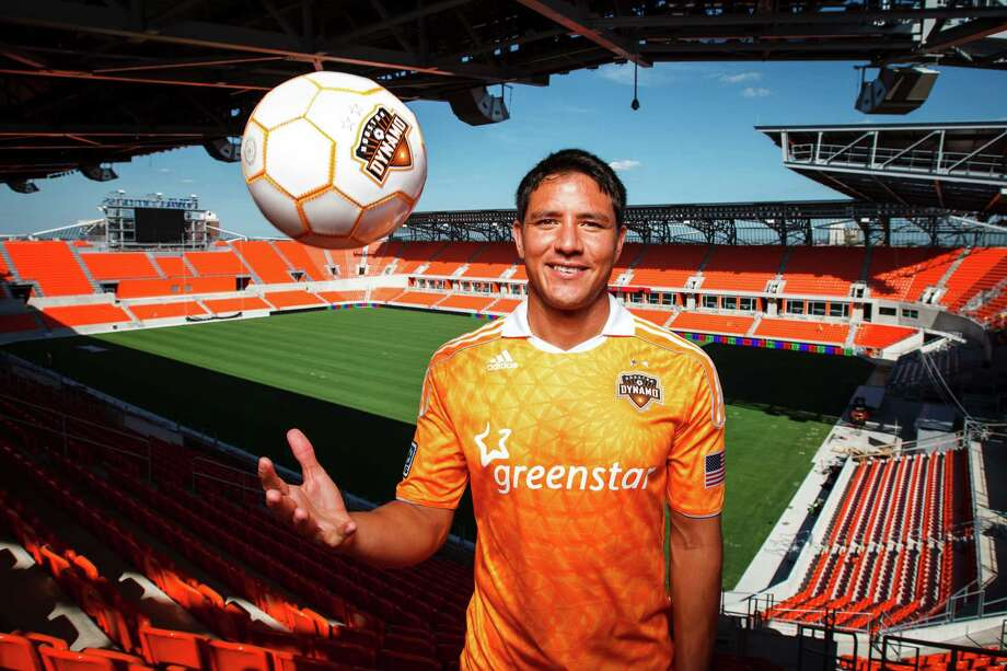 Houston Dynamo soccer player Brian Ching at the BBVA Compass Stadium, Thursday, April 19, 2012, in Houston. ( Michael Paulsen / Houston Chronicle ) Photo: Michael Paulsen / © 2012 Houston Chronicle