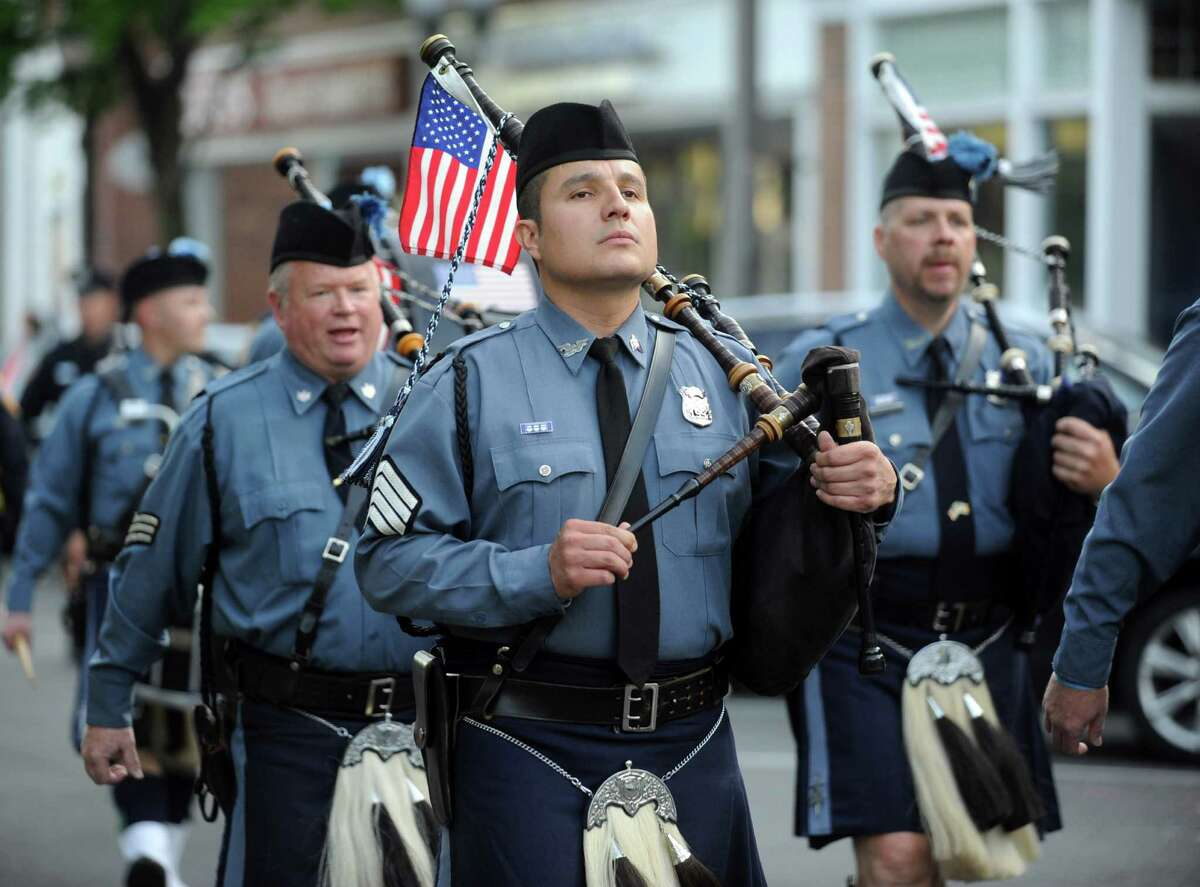 The 6th annual Stamford Police Department Memorial Parade on Friday, May 4, 2012.