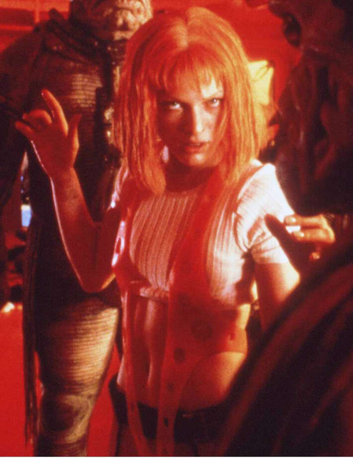 "Jovovich also starred as Leeloo in the tongue-in-cheek ""The Fifth Element"" as a humanoid who's the key to solving an Earth-saving riddle. Photo: Getty Images"