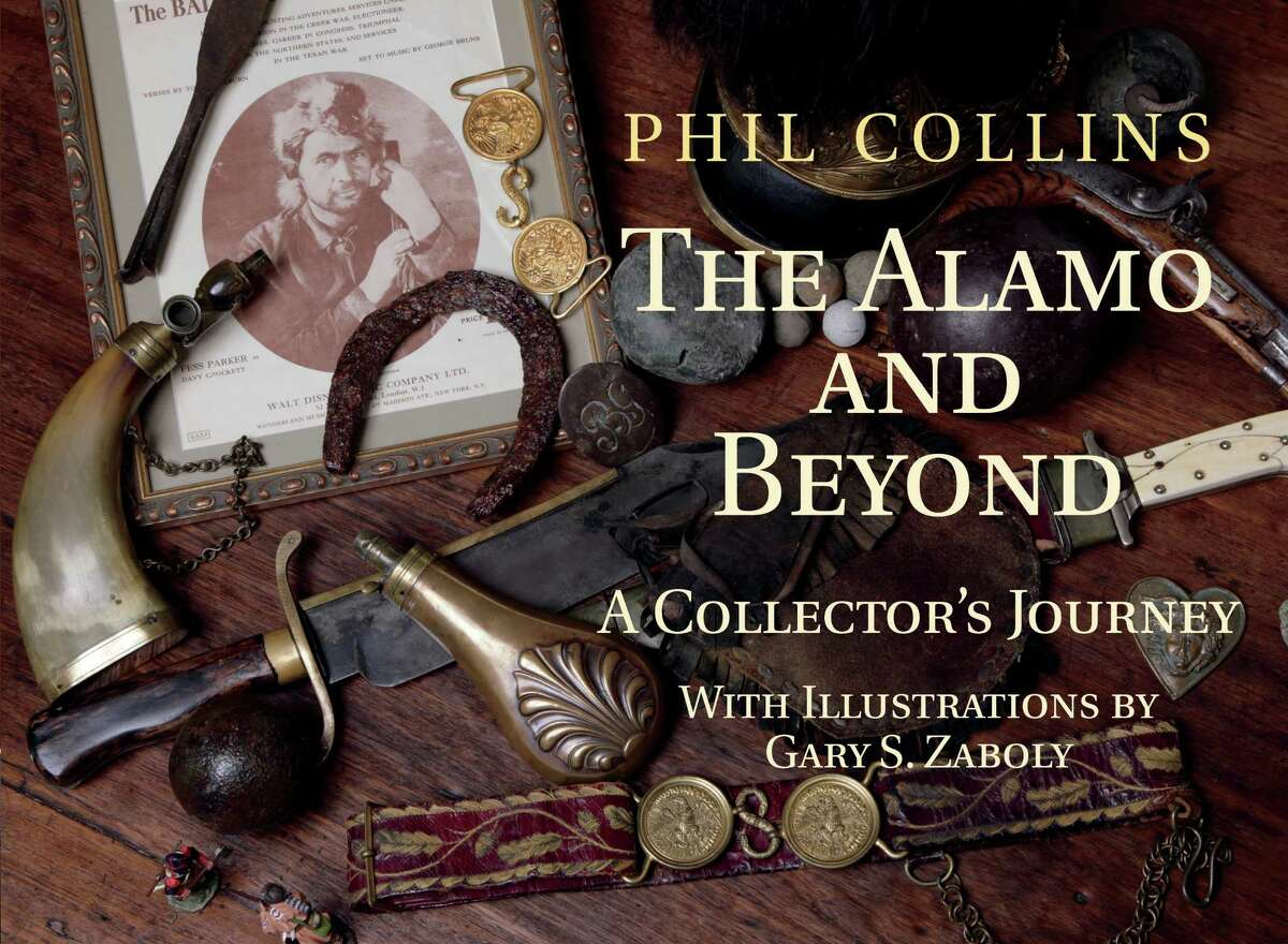 """Singer Phil Collins chronicles his fascination with the Alamo in his new book """"The Alamo and Beyond: A Collector's Journey."""""""