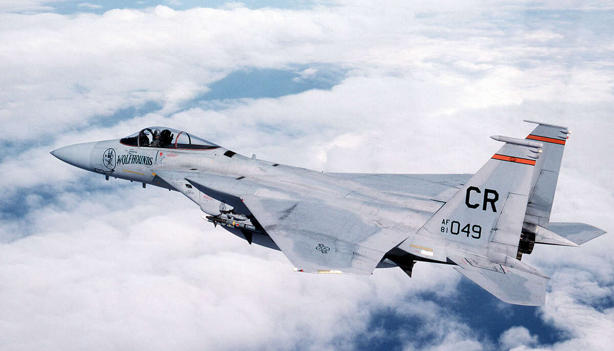 F-15 Eagle Air ForceTactical fighterIntroduced 1976 McDonnell Douglas