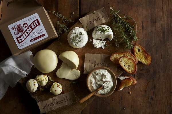 DIY cheese kit from Williams-Sonoma's Agrarian line.