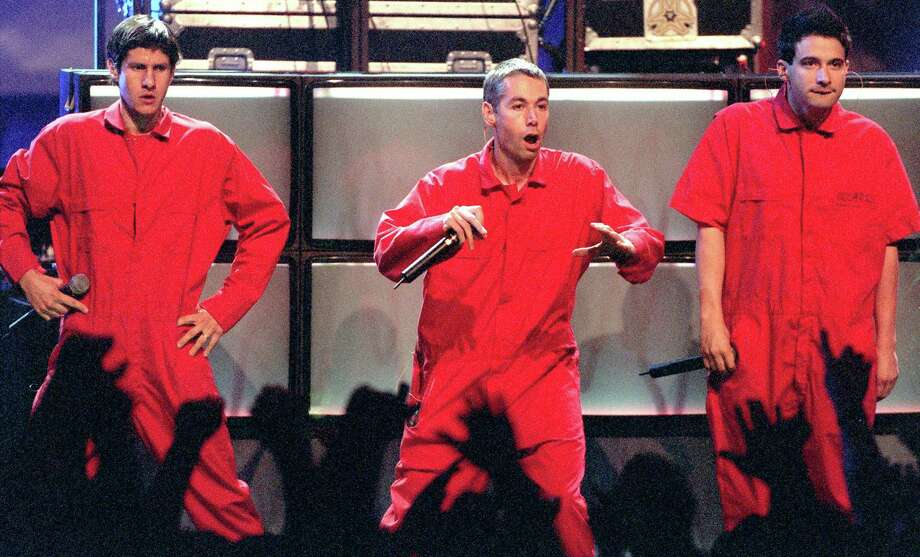 "Adam ""MCA"" Yauch, center, co-founded the Beastie Boys, who changed the face of mainstream rap with the album ""License to Ill."" Yauch, 47, died of cancer. Photo: Ken Hively / Los Angeles Times"