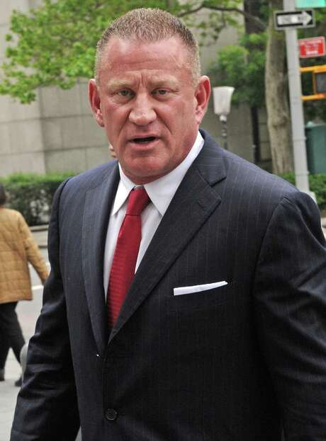 Ross Mandell, former chief executive officer and founder of Sky Capital Holdings Ltd., enters federal court for sentencing in New York, U.S., on Thursday, May 3, 2012. Mandell is being sentenced on charges related to a scheme to defraud investors through two successive securities broker-dealers and faces up to 65 years in prison and more than $5 million in fines. Photographer: Louis Lanzano/Bloomberg *** Local Caption *** Ross Mandell Photo: Louis Lanzano / © 2012 Bloomberg Finance LP