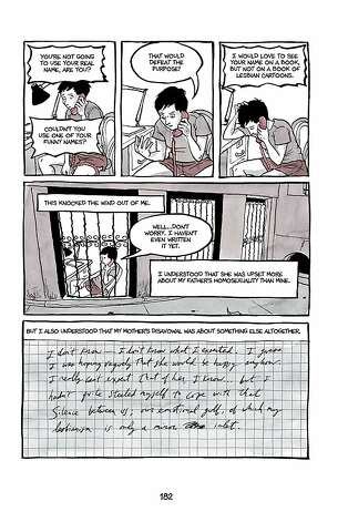 "A page from Alison Bechdel's ""Are You My Mother?"" Photo: Alison Bechdel"
