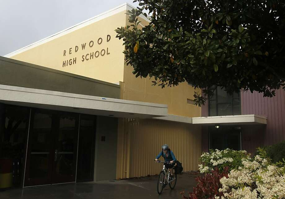 The Bay Area public schools with the best SAT scores  No. 19 Redwood High School, Larkspur (Marin County): 87.43 percent of students met benchmarks for both math and English Photo: Paul Chinn, The Chronicle