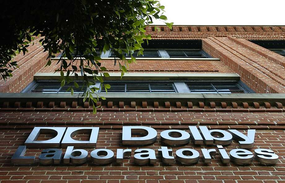 Dolby Laboratories will relocate its headquarters despite not receiving financial incentives from S.F.      San Francisco's Dolby Laboratories beat analysts' quarterly expectations and was picked to do the audio for Windows 8 for tablets and computers.     Dolby Laboratories is in talks to acquire naming rights to the former Kodak Theatre in Hollywood.       A Dolby Laboratories logo is pictured outside their offices in San Francisco, California on October 26, 2004.  Ray Dolby, who developed music and motion-picture sound systems that won him Academy Awards, is planning an initial public offering that may value his company at as much as $1.5 billion, people familiar with the matter said.  Photographer: Noah Berger/Bloomberg News.  Ran on: 02-15-2005 Dolby Laboratories licenses its noise reduction and surround sound technologies to consumer electronics companies. Ran on: 01-08-2007 Dolby Laboratories is expected to unveil sound-leveling technology, which might make commercials less annoying.  Ran on: 03-14-2010 San Francisco's Dolby Laboratories is known more for sound than its work in 3-D.  Ran on: 05-23-2010 Dolby Laboratories in San Francisco has developed a sound system to match the action in 3-D movies.--- Sent 03/29/12 18:18:39 as sector30_PH2 with caption:  --- Sent 05/04/12 18:27:55 as sectorrdp05_ph with caption: A Dolby Laboratories logo is pictured outside their offices in San Francisco, California on October 26, 2004. Ray Dolby, who developed music and motion-picture sound systems that won him Academy Awards, is planning an initial public offering that may value his company at as much as $1.5 billion, people familiar with the matter said. Photographer: Noah Berger/Bloomberg News. --- Sent 05/05/12 12:20:06 as dolby23_ph1 with caption:  --- Sent 06/26/12 17:08:46 as dolby23_ph1 with caption: Dolby Laboratories in San Francisco. Photo: Noah Berger, Bloomberg News