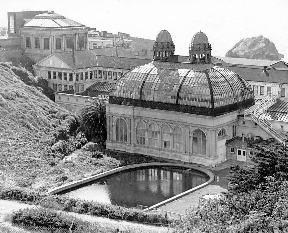 The Victorian glass-enclosed pools of the Sutro Baths. Photo: -, SFC