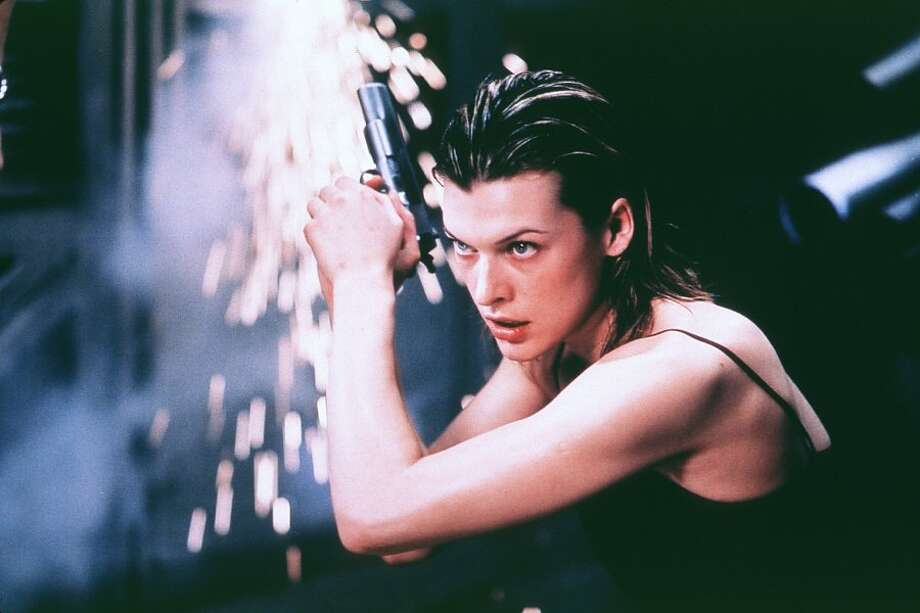 "Model-turned-actress Milla Jovovich may not have much in the way of superpowers as ""Alice,"" but she does have four movies in the ""Resident Evil"" franchise, with a fifth on the way. Photo: Screen Gems"
