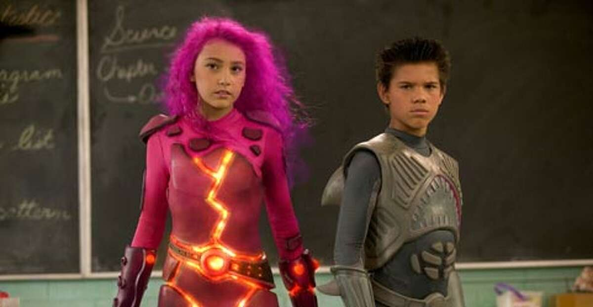 The Adventures of Sharkboy and Lavagirl (2005)Leaving Sept. 1 Yes, that's a younG Taylor Lautner.
