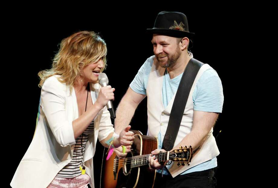 Sugarland lead singer Jennifer Nettles and guitarist Kristian Bush will perform at BBVA Compass Stadium on Aug. 26. Photo: HARRY SCULL JR / Copyright 2011, The Buffalo News