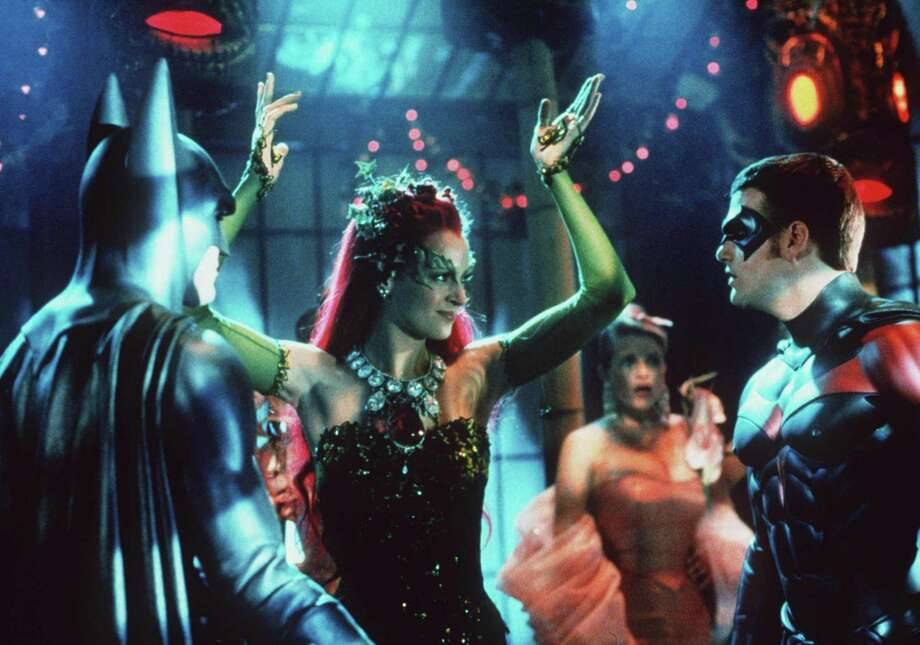 "Uma Thurman played Poison Ivy, a nemesis of Batman, in ""Batman & Robin"" (1997). Photo: Getty Images"