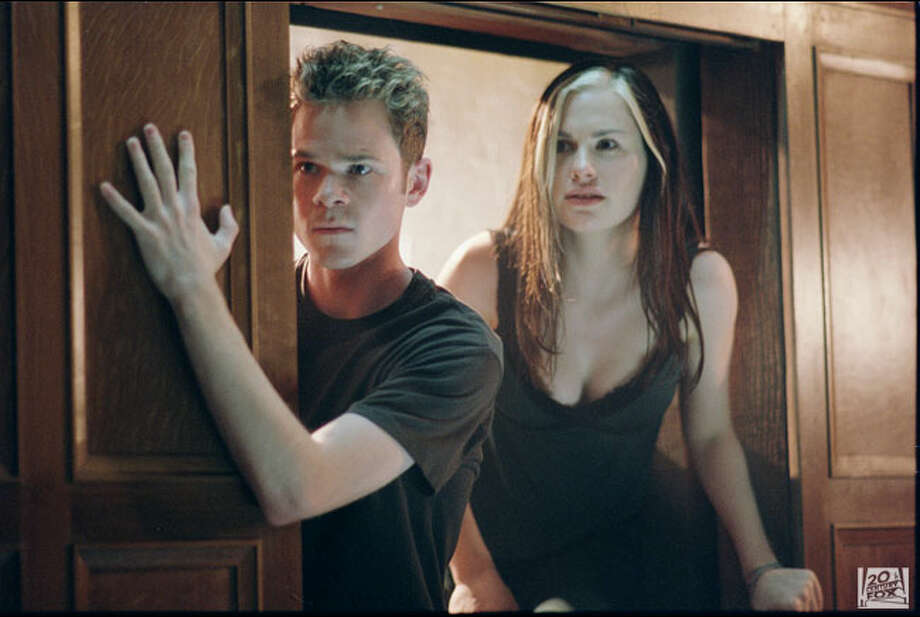 "Anna Paquin (right, with Shawn Ashmore as Iceman) played Rogue in the ""X-Men"" trilogy of films. Photo: Twentieth Century Fox"