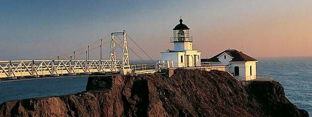 Suspension Bridge leading to Point Bonita Light Photo Al Greening, courtesy National Park Service Photo: Al Greening, National Park Service