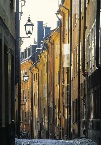 Steet in medieval Gamla Stan (Old Town), where Stockholm was founded in the 13th century. Photo: Stockholm Visitors Board